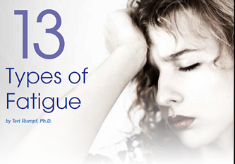 13 Types of Sjogren's Fatigue