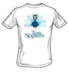 Team Sjögrens T Shirt Front